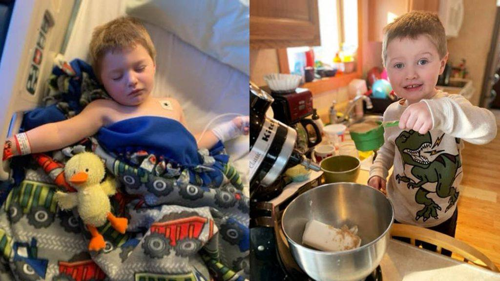 sharing-mayo-clinic:-volunteer's-gift-provides-warming-comfort-for-young-boy-after-head-injury